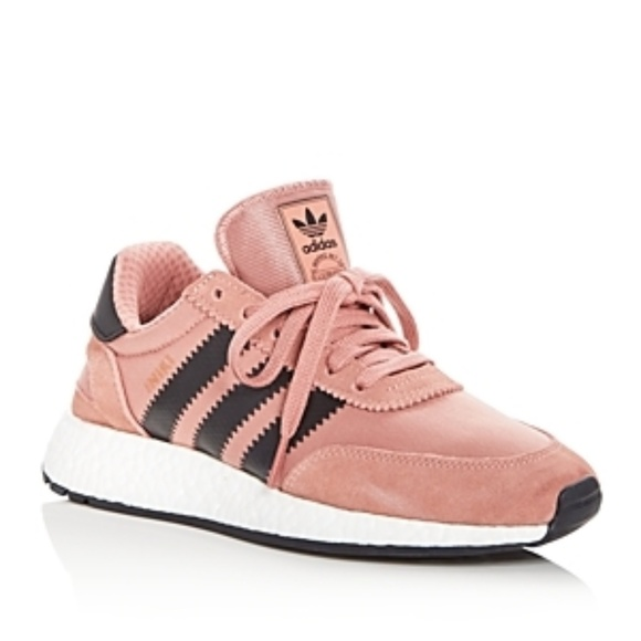 1d735af43955ad ADIDAS Womens Pink Iniki Runner Sneakers
